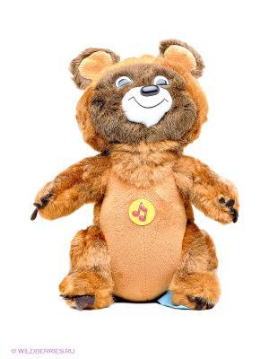 Мягкая игрушка Мишка Мульти-пульти. Цвет: коричневый