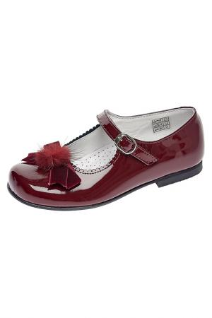 Туфли TNY. Цвет: красный