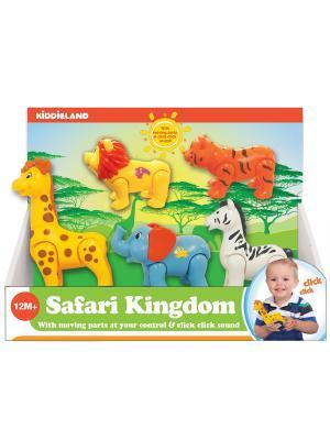 Развивающая игрушка Мир сафари Kiddieland. Цвет: зеленый, голубой, желтый