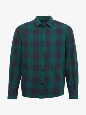 Рубашка Tom Tailor 203367600307610. Цвет: темно-бежевый меланж