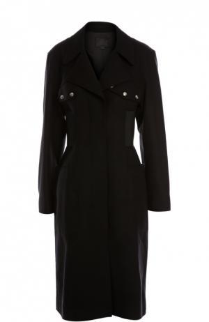 Пальто Alexander Wang. Цвет: черный