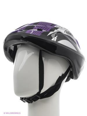 Шлем защитный RIDEX Cyclone, фиолетовый/черный. Цвет: фиолетовый, черный