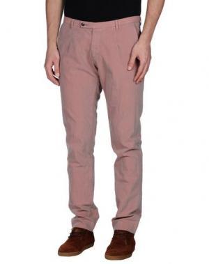 Повседневные брюки ONE SEVEN TWO. Цвет: пастельно-розовый