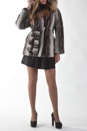 Куртка Меховая фабрика Bagiroff. Цвет: коричневый
