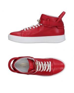 Высокие кеды и кроссовки SPAZIOMODA. Цвет: красный