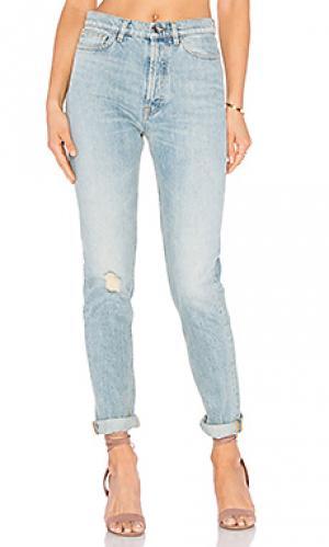 Узкие джинсы always IRO . JEANS. Цвет: none
