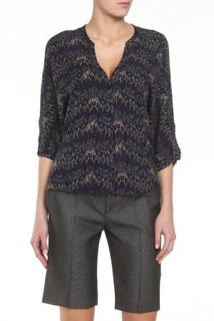 Блузка Zadig&Voltaire. Цвет: темно-серый