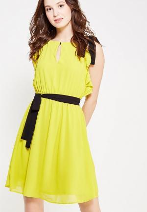 Платье Motivi. Цвет: желтый