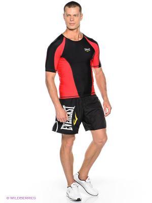 Шорты MMA Submission Rip-Stop Everlast. Цвет: черный