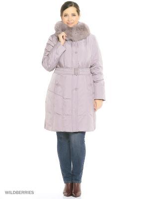 Пальто DECENTLY. Цвет: бледно-розовый