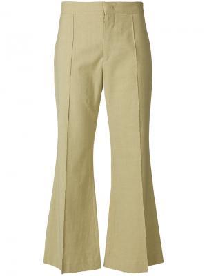 Укороченные брюки Reeves Isabel Marant. Цвет: телесный