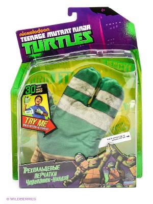 Перчатки Черепашки Ниндзя Playmates toys. Цвет: зеленый