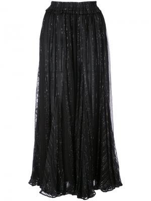 Jaimie midi skirt Dodo Bar Or. Цвет: чёрный