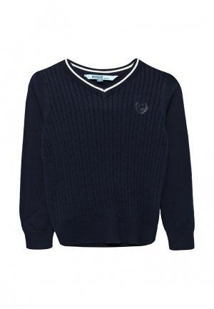 Пуловер Modis. Цвет: синий