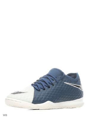 Бутсы HYPERVENOMX FINALE II IC Nike. Цвет: синий
