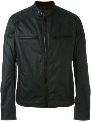 Куртка-бомбер на молнии Belstaff. Цвет: чёрный