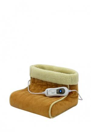Электрогрелка для ног Planta. Цвет: коричневый