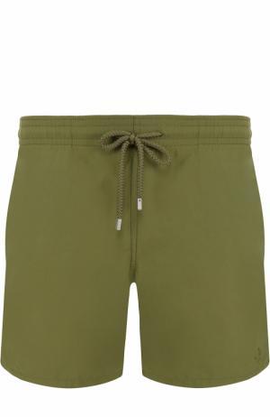 Плавки-шорты с карманами Vilebrequin. Цвет: хаки