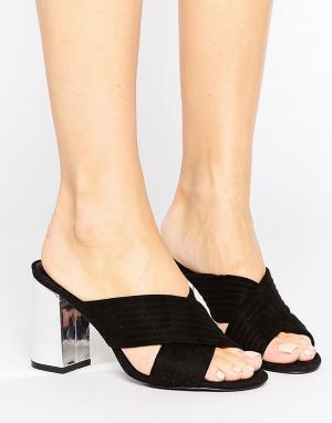 Shoelab Сабо. Цвет: черный