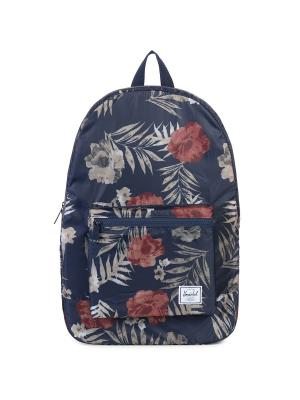 Рюкзак PACKABLE DAYPACK (A/S) Herschel. Цвет: лазурный