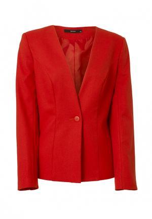 Пиджак Emka. Цвет: красный