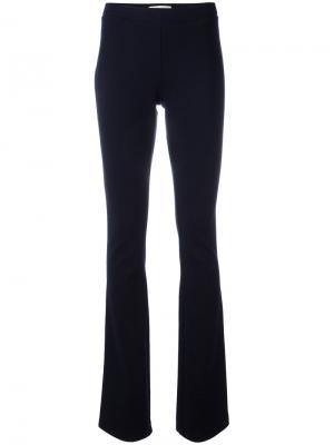 Расклешенные брюки Pierre Balmain. Цвет: синий