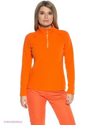 Джемпер CMP. Цвет: оранжевый