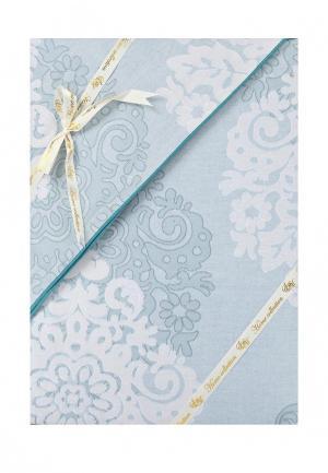 Комплект постельного белья Sofi De Marko. Цвет: голубой