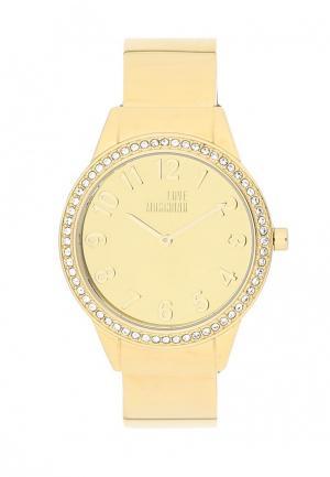 Часы Moschino. Цвет: золотой