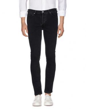 Джинсовые брюки WHISTLES. Цвет: черный