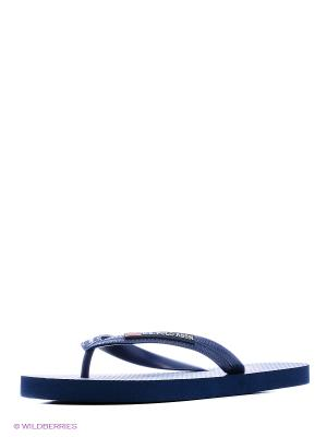 Шлепанцы U.S. Polo Assn.. Цвет: темно-синий