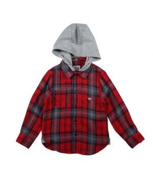Pубашка ARMANI JUNIOR. Цвет: красный