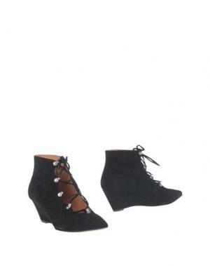 Полусапоги и высокие ботинки SIGERSON MORRISON. Цвет: черный