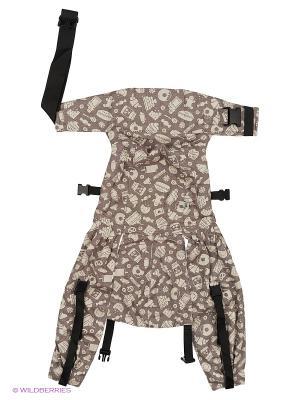 Слинг-рюкзак Sweet Classic Mum`s Era. Цвет: серый, белый