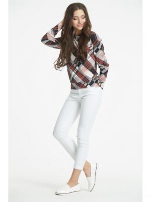 Пуловер Fly. Цвет: серый, коричневый