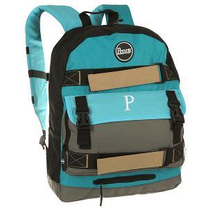 Рюкзак спортивный  Bag Blue 2015 Blue/Grey/Black Penny. Цвет: голубой,зеленый,черный
