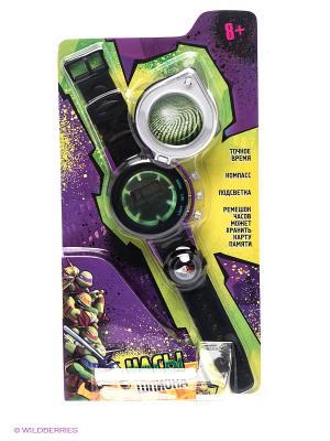 Шпионские часы Играем вместе черепашки-ниндзя. Цвет: зеленый