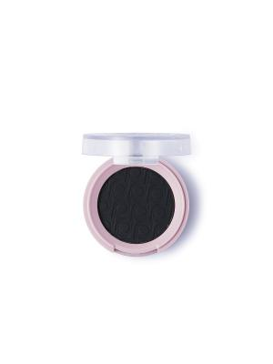 Матовые тени Pretty тон 012 Дымчатый черный Flormar. Цвет: черный