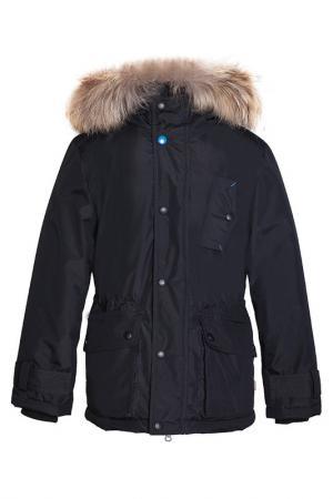 Куртка-аляска Orby. Цвет: черный