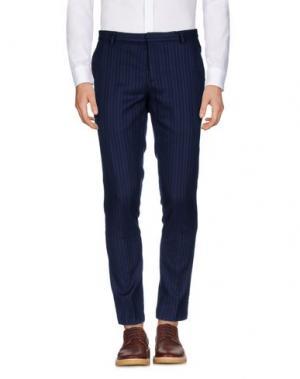 Повседневные брюки ..,BEAUCOUP. Цвет: темно-синий