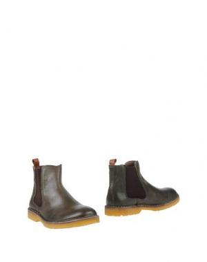 Полусапоги и высокие ботинки WALLY WALKER. Цвет: темно-зеленый