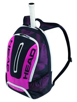 Рюкзак Tour Team Backpack HEAD. Цвет: темно-фиолетовый, розовый, темно-синий