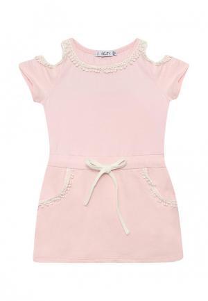Платье Incity. Цвет: розовый