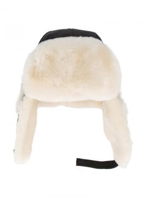 Летная шапка Canada Goose. Цвет: чёрный