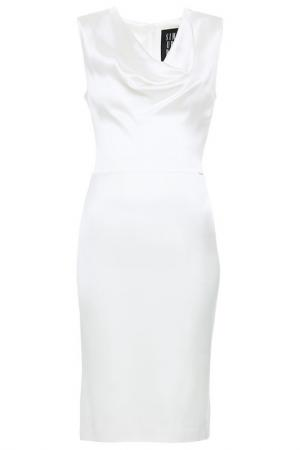 Платье Simple. Цвет: белый