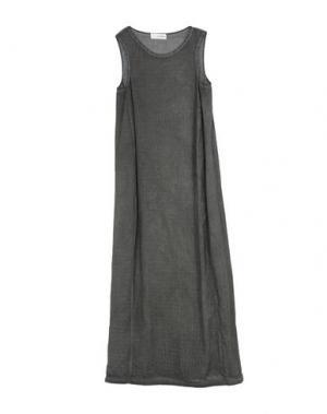 Длинное платье UN-NAMABLE. Цвет: свинцово-серый