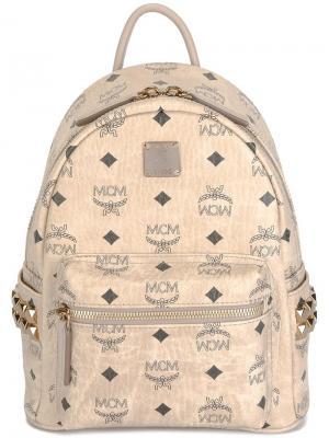 Мини рюкзак Stark MCM. Цвет: телесный