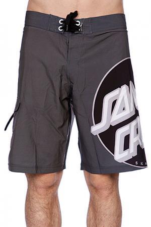 Пляжные мужские шорты  Other Dot Grey Santa Cruz. Цвет: серый