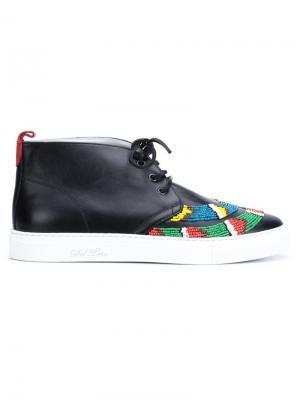 Хайтопы Чукка Del Toro Shoes. Цвет: чёрный