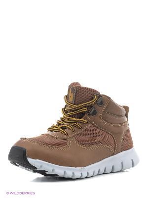 Спортивные ботинки Bibi. Цвет: коричневый